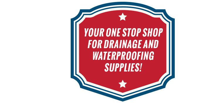 Your one stop shop for drainage and waterproofing supplies