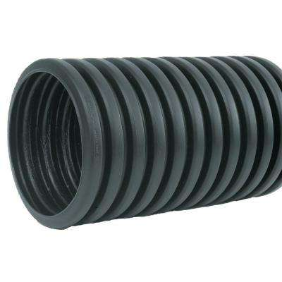 "4""x10' Single Wall Corrugated Pipe Solid"
